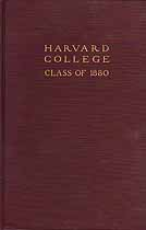 Thumbnail image of Harvard Class of 1880 Report for 1920 cover