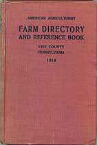 Thumbnail image of Erie County, Pa. 1918 Farm Directory cover