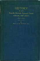 Thumbnail image of Roseville M.E. Church Membership Roll (1857 - 1927) cover