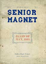 Thumbnail image of Senior Magnet, Butler, Pa., Vol. 13, No. 9 cover