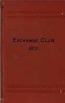 Thumbnail image of Exchange Club 1931 Necrology cover