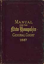 Thumbnail image of New Hampshire General Court 1887 cover