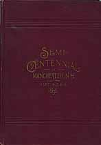 Thumbnail image of Semi-Centennial of Manchester, N.H. cover