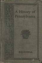 Thumbnail image of A History of Pennsylvania 1901 cover
