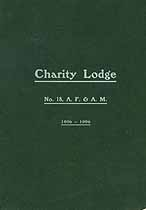 Thumbnail image of Charity Lodge, No. 18, 1906 Member List cover