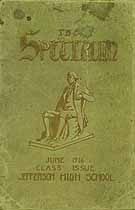 Thumbnail image of The Spectrum June 1916 Yearbook cover