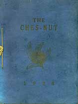 Thumbnail image of The Ches-Nut 1926, Chesbrough High cover