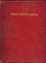 Thumbnail image of Who's Who in America 1899 - 1900 cover