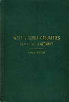 Thumbnail image of West Virginia Casualties in the War With Germany cover