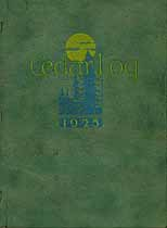 Thumbnail image of The 1925 Cedar Log cover
