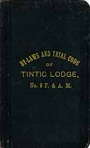 Thumbnail image of Tintic Lodge, No. 9, F. & A.M. Roster cover