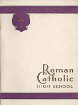Thumbnail image of Roman Catholic High School 1947 Commencement cover