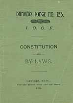 Thumbnail image of Danvers Lodge, Number 153 of I.O.O.F. 1895 cover