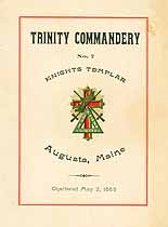 Thumbnail image of Trinity Commandery No. 7 Knights Templar cover