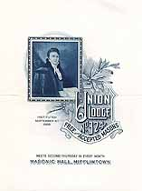 Thumbnail image of Union Lodge No. 324 F. & A. M. 1942 Meeting Notice cover