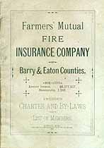 Thumbnail image of Farmers' Mutual Fire Ins. Co. Members for 1883 cover