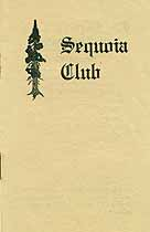 Thumbnail image of Sequoia Club 1912 Members cover