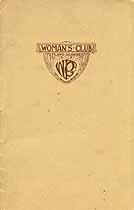 Thumbnail image of Plano Woman's Club Year Book 1916-1917 cover
