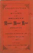 Thumbnail image of Brooklyn Masonic Mutual Relief 1882 Officers cover