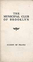 Thumbnail image of The Municipal Club of Brooklyn 1912-1913 cover