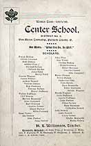 Thumbnail image of Center School, Winter Term 1897-98 cover
