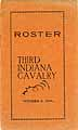 Thumbnail image of Roster of Third Indiana Cavalry cover