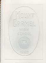 Thumbnail image of Mount Carmel High School 1928 Graduation cover