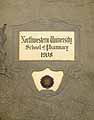 Thumbnail image of Northwestern Univ. School of Pharmacy 1908 cover