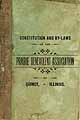Thumbnail image of Prairie Benevolent Association 1895 By-Laws cover