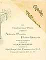 Thumbnail image of Atlantic County Public Schools 1891 Commencement cover