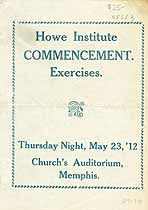 Thumbnail image of Howe Institute Commencement '12 cover