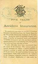 Thumbnail image of Five Years of Accident Insurance cover