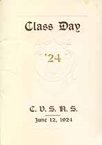Thumbnail image of Cumberland Valley State Normal 1924 Class Day Program cover