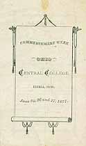 Thumbnail image of Ohio Central College Commencement cover