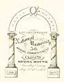 Thumbnail image of National University Law Dept. 1876 Commencement cover