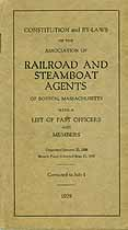 Thumbnail image of Boston Railroad and Steamboat Agents 1929 Report cover
