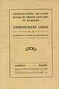 Thumbnail image of Androscoggin Lodge, No. 24, I.O.O.F. Members for 1920 cover