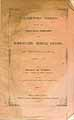 Thumbnail image of Homoeopathic Medical College 1856 Catalogue cover