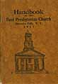 Thumbnail image of Honeoye Falls First Presbyterian Church 1917 Handbook cover