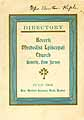 Thumbnail image of Beverly Methodist Episcopal Church Directory cover