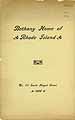 Thumbnail image of Bethany Home of Rhode Island 1896 Report cover