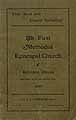 Thumbnail image of Belvidere First Methodist Episcopal Church Directory cover