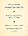 Thumbnail image of Rothsville High 1913 Commencement cover