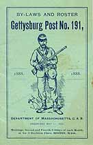 Thumbnail image of Gettysburg Post No. 191 Roster for 1888 cover
