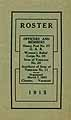 Thumbnail image of Chester G.A.R. and Veterans 1915 Roster cover