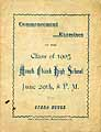 Thumbnail image of Mauch Chunk High School 1905 Commencement cover