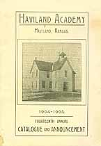 Thumbnail image of Haviland Academy Student 1905 Catalogue cover