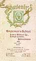 Thumbnail image of Engleman's School 1902 Souvenir cover