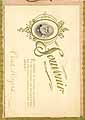 Thumbnail image of Green Township School No. 5, 1900-01 Souvenir cover