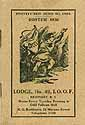 Thumbnail image of Excelsior Lodge, No. 49, Roster 1920 cover